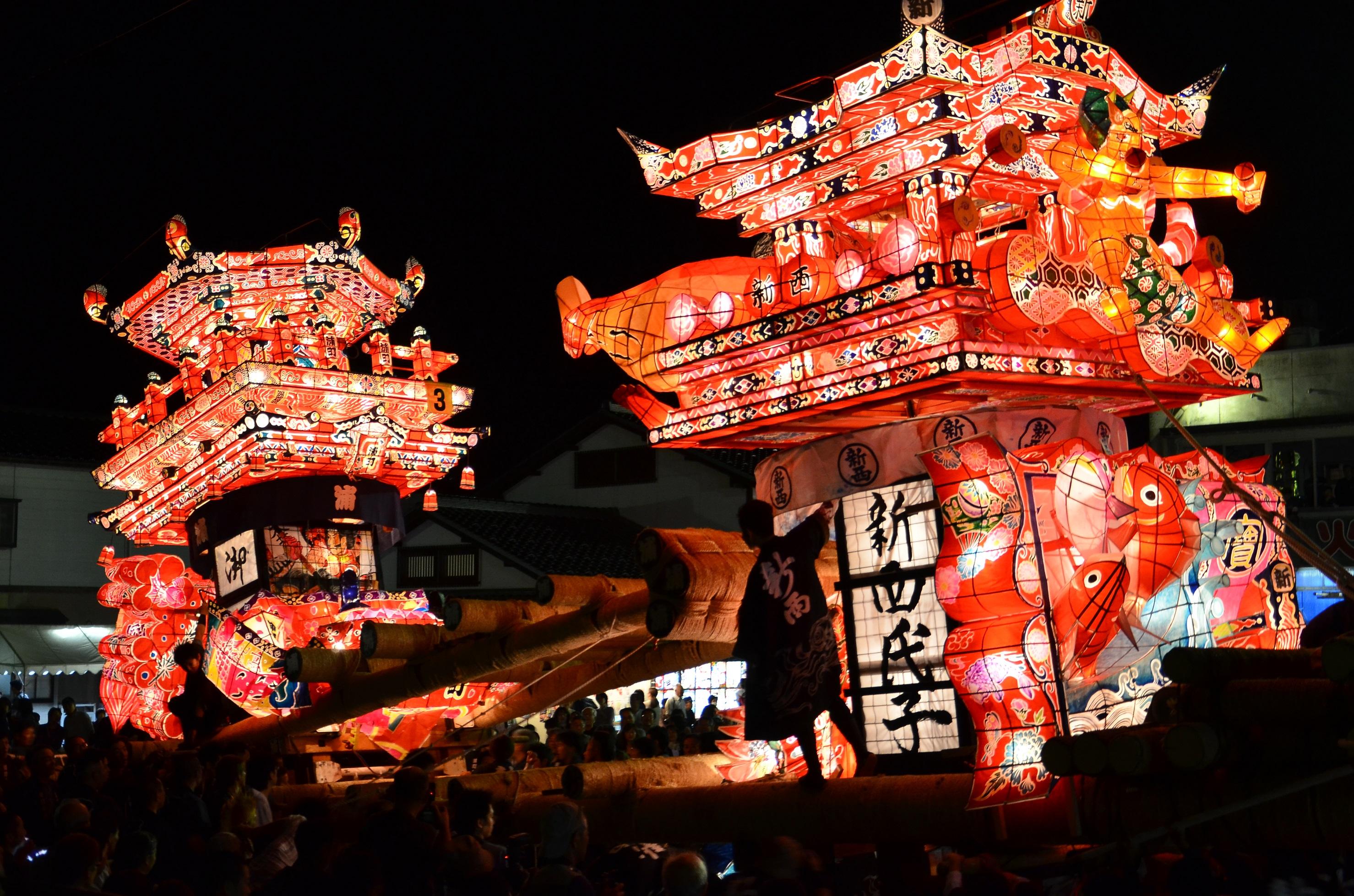 Tsuzawa Yotaka Andon Festival